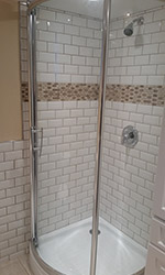 cylindrical shower shower